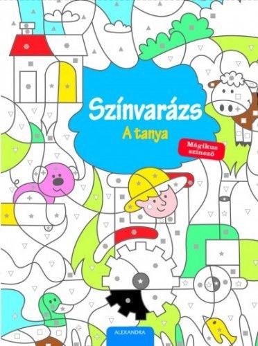 Színvarázs - A tanya - Mágikus színező -  pdf epub