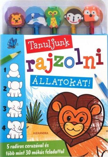 Tanuljunk rajzolni állatokat!