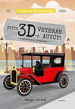 Építs 3D-s veterán autót