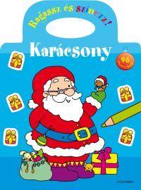 Karácsony - Ragassz és színezz! 96 matricával