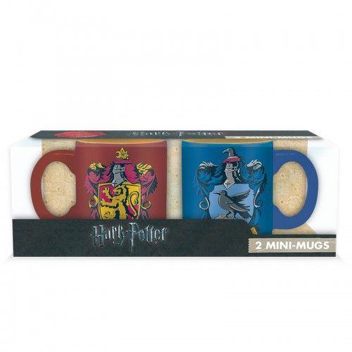 Harry Potter 2db mini bögre Griffendél és Hollóhát mintával 2*110 ml