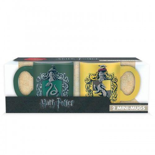 Harry Potter 2db mini bögre Mardekár és Hugrabug mintával 2*110 ml