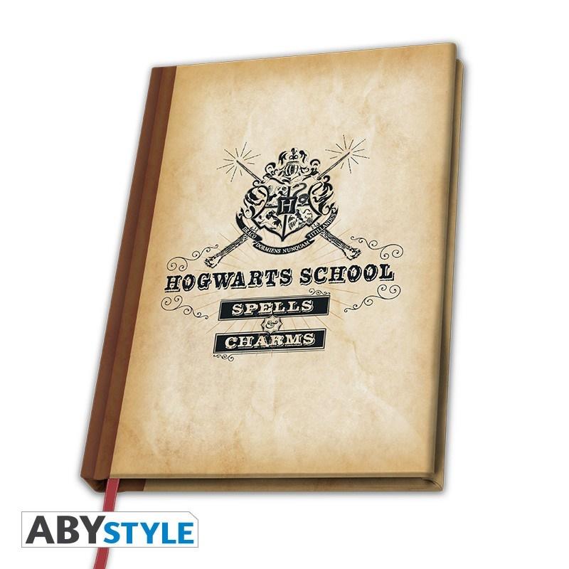 Harry Potter - A5-ös jegyzetfüzet - Roxfort