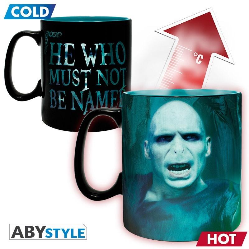 Harry Potter - Voldemort hőre változó bögre