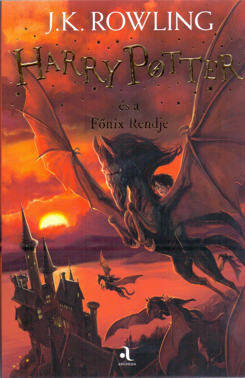 Harry Potter és a Főnix Rendje - J. K. Rowling |