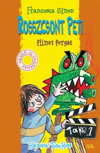 Rosszcsont Peti filmet forgat - Francesca Simon |