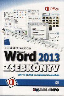 Word 2013 zsebkönyv