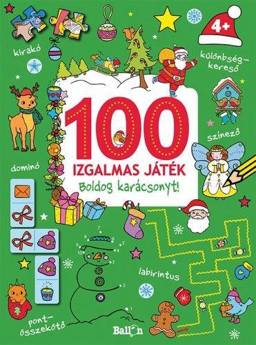 100 izgalmas játék - Boldog karácsonyt! -  pdf epub