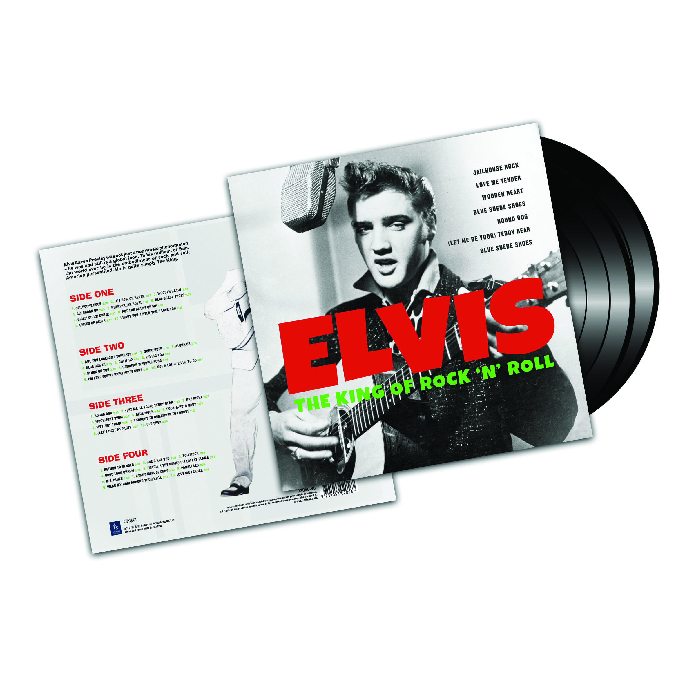 Elvis ‎– The King Of Rock 'N' Roll (2LP)