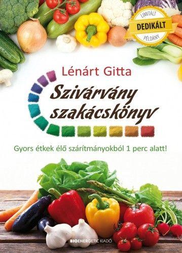 Szivárvány szakácskönyv - DEDIKÁLT