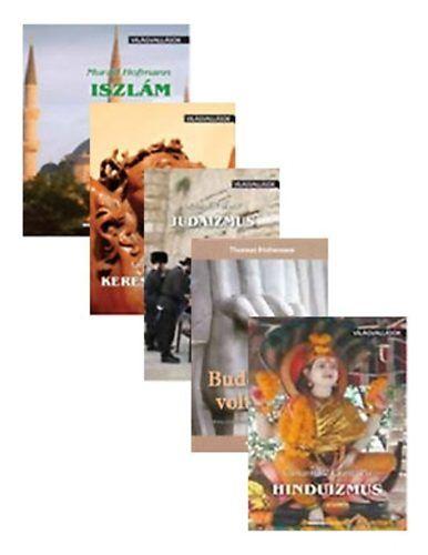 Világvallások - akciós csomag - Buddhának volt ideje! - Kereszténység - Hinduizmus - Judaizmus - Iszlám