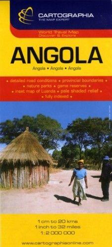 Angola útitérkép 1:2000000 - 1:2 000 000