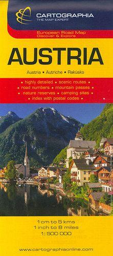 Ausztria autótérkép 1:500.000