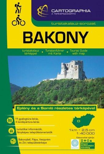 Bakony turistakalauz1:40.000