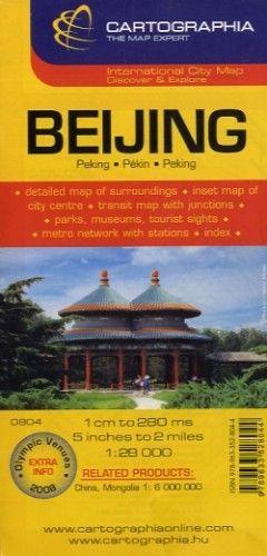 Peking várostérkép 1:28 000