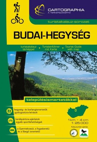 Budai-hegység turistakalauz 1:25.000