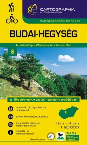 Budai-hegység turistatérkép 1: 25 000