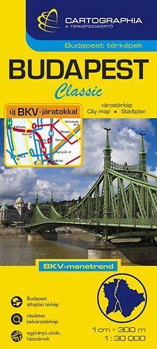 Budapest Classic Várostérkép 1:30 000 -  pdf epub