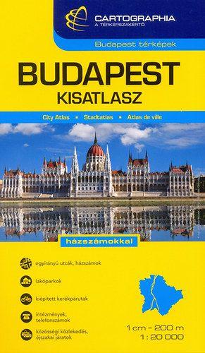 Budapest kis-autóatlasz 1:20 000