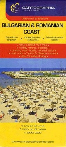 Bolgár - Román tengerpart autótérkép 1:200.000 -  pdf epub