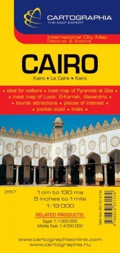 Kairó várostérkép 1:13 000