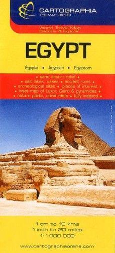 Egyiptom útitérkép 1:1 000 000