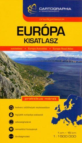 Európa Kisatlasz 1:1 500 000 -  pdf epub