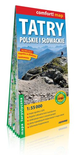 Tátra (Szlovákia-Lengyelo.) turistatérkép 1:55000
