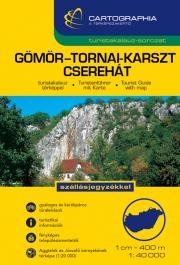Gömör-Tornai-karszt, Cserehát turistakalauz 1:40.000
