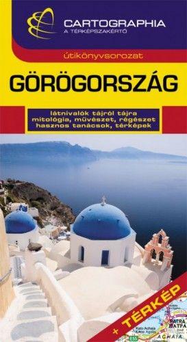 Görögország útikönyv + térkép