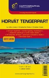 Horvát tengerpart térkép 1:200.000 -  pdf epub