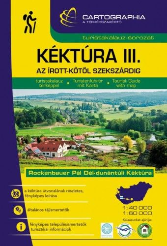 Kéktúra III. (Dél-Dunántúli) turistakalauz -  pdf epub