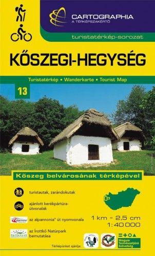 Kőszegi-hegység turistatérkép1:40.000
