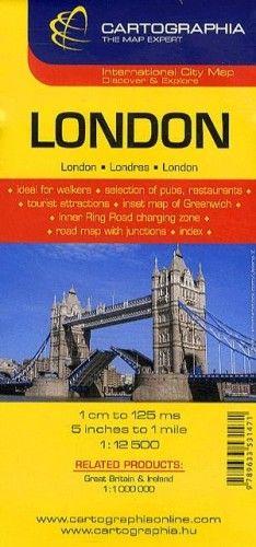 London City Map 1:12 500