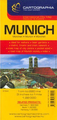 München City Map 1:22 000