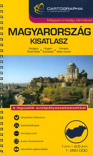 Magyarország kisatlasz 1:250.000