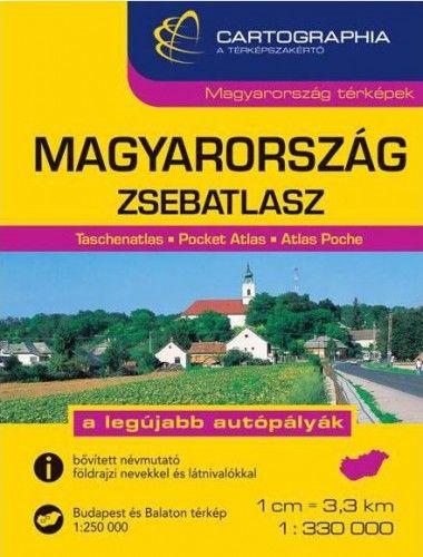 Magyarország zsebatlasz 1:250.000