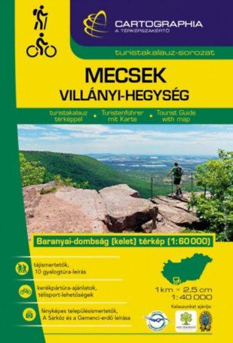 Mecsek, Villányi-hegység turistakalauz - 1:60000