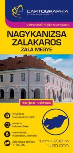 Nagykanizsa - Zalakaros Várostérkép 1:20 000