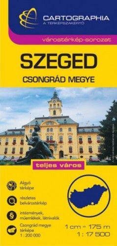 Szeged Várostérkép 1:17 500 -  pdf epub
