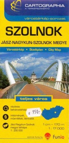 Szolnok Várostérkép 1:17 000 -  pdf epub