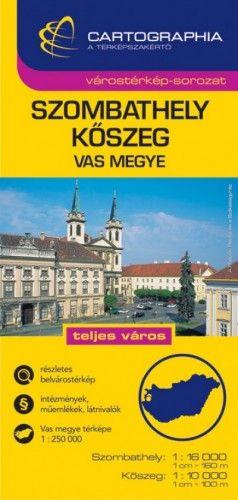 Szombathely - Kőszeg Várostérkép1:16 000 -  pdf epub