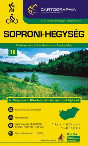 Soproni - hegység -  pdf epub