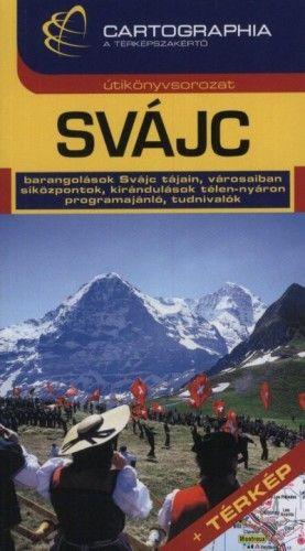 Svájc útikönyv + térkép
