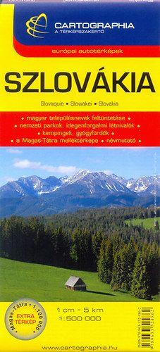 Szlovákia autóstérkép 1:500 000 -  pdf epub