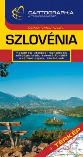 Szlovénia útikönyv + térkép