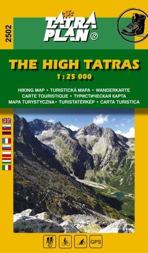 TP2502 Magas-Tátra 1:25000 - Turistatérkép