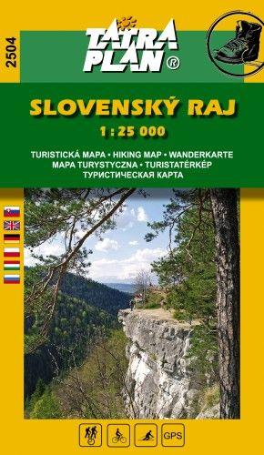 TP2504 Szlovák Paradicsom turistatérkép 1:25000