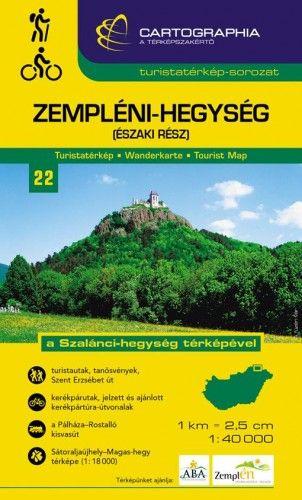 Zempléni-hegység (északi rész) turistatérkép 1:40 000