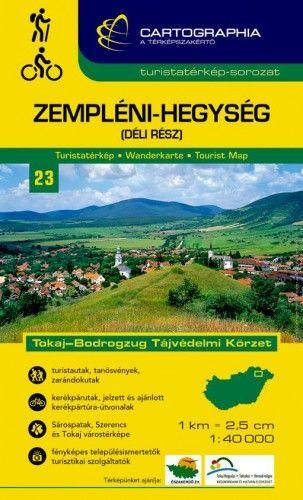 Zempléni-hegység (déli rész) turistatérkép 1:40.000